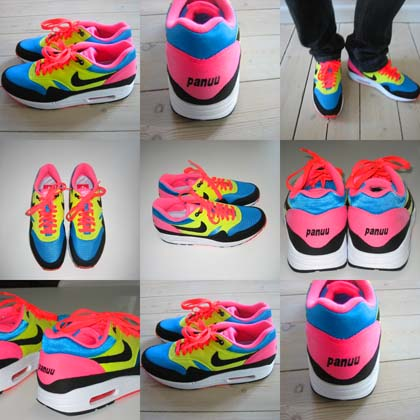chaussure nike customiser